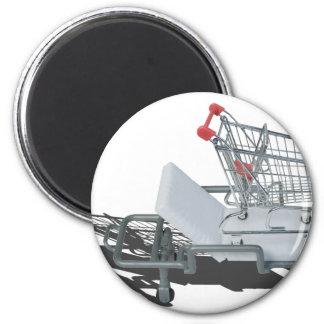 ShoppingCartOnGurney092715 Magnet