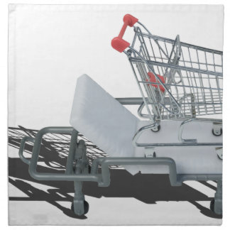 ShoppingCartOnGurney092715 Napkin