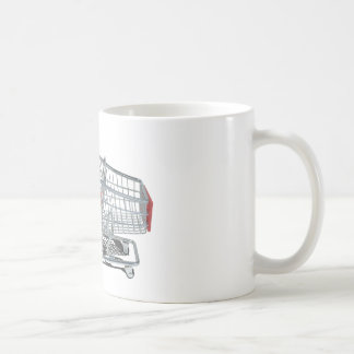 ShoppingCartWithFuzzyDice092715 Coffee Mug
