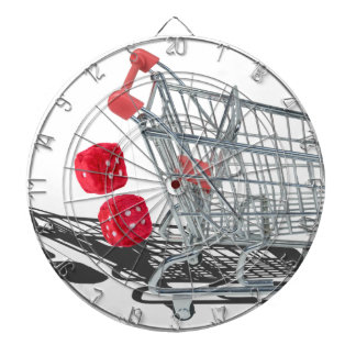 ShoppingCartWithFuzzyDice092715 Dartboard