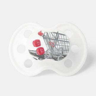 ShoppingCartWithFuzzyDice092715 Pacifier