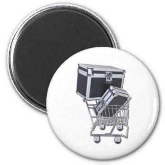 ShoppingForLuggage011011 Refrigerator Magnets