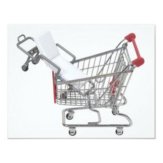 """ShoppingMedicalCoverage090409 Invitación 4.25"""" X 5.5"""""""