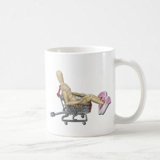 ShoppingOnlineWithBunnySlippers082611 Coffee Mug