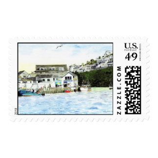 'Shops and Boats' Postage