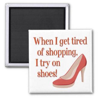 Shops for Shoes Magnet