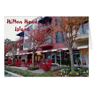 Shops Of Harbour Town Sea Pines Hilton Head Island Card