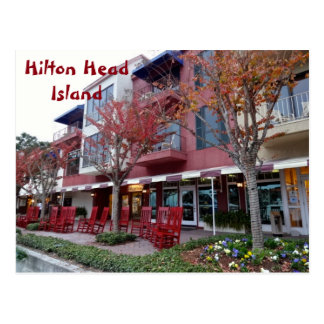 Shops Of Harbour Town Sea Pines Hilton Head Island Postcard