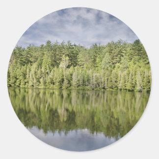 shore-238 classic round sticker