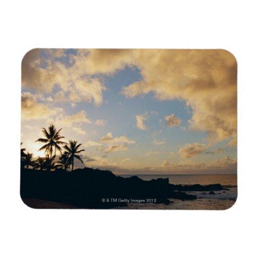 Shore 5 rectangular photo magnet