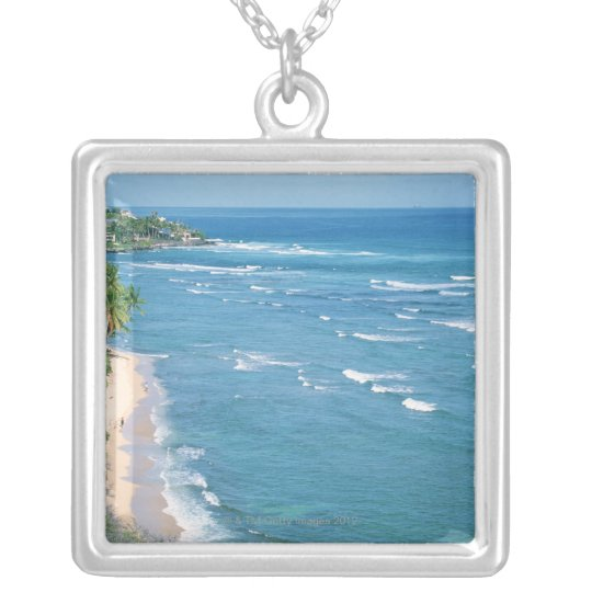 Shore 9 silver plated necklace