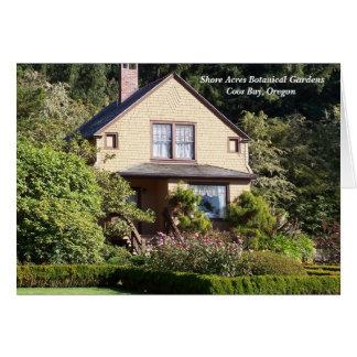 Shore Acres Botanical Gardens Card