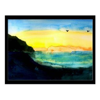 Shore And Sky Postcard