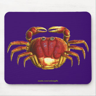 SHORE CRAB Mousepad Design