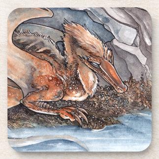 Shore Dragon Beverage Coaster