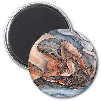 Shore Dragon Fridge Magnet
