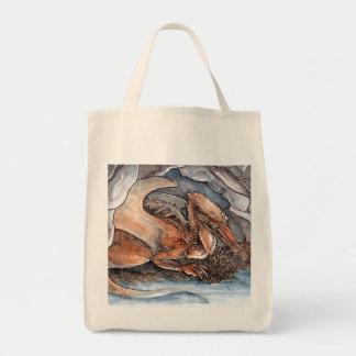 Shore Dragon Tote Bag