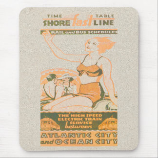 Shore Fast Line Timetable Mouse Pad