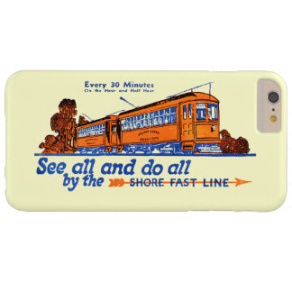 Shore Fast Line Trolley Service Barely There iPhone 6 Plus Case