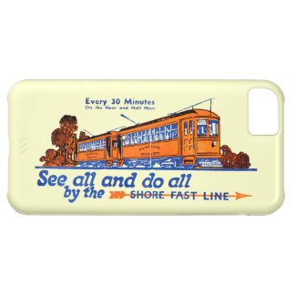 Shore Fast Line Trolley Service Case For iPhone 5C