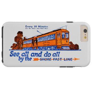 Shore Fast Line Trolley Service Tough iPhone 6 Plus Case