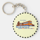 Shore Fast Line Trolley Service Keychain