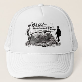 Shore Fast Line Trolleys 1910 Vintage Trucker Hat