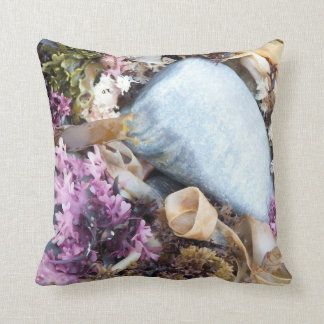 Shore Life in Maine Throw Pillow
