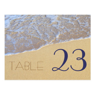 Shore Love, Beach Themed Table Number Cards