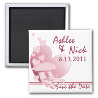 Shore Love/ Save the Date Magnet