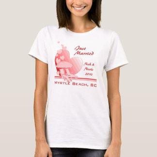 Shore Love/ Tropical Rose T-Shirt