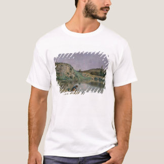 Shore of Lake Bourget T-Shirt
