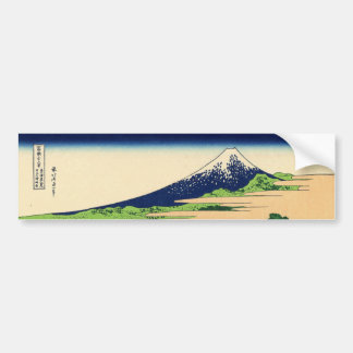 Shore of Tago Bay  Ejiri at Tokaido Bumper Stickers
