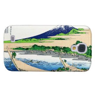 Shore of Tago Bay, Ejiri at Tokaido Hokusai Fuji Galaxy S4 Cover