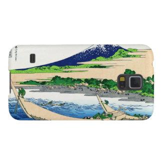 Shore of Tago Bay, Ejiri at Tokaido Hokusai Fuji Galaxy S5 Cover