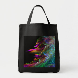 shore of the fractal sea tote bag