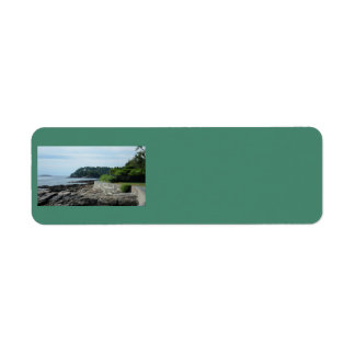 Shore Path, Bar Harbor, Maine Address Labels