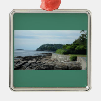 Shore Path, Bar Harbor, Maine Ornament