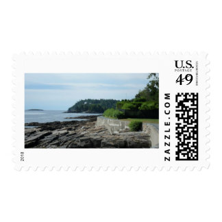 Shore Path, Bar Harbor, Maine Stamps