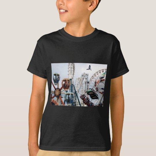 Shore Pier Dark Shirt Kids
