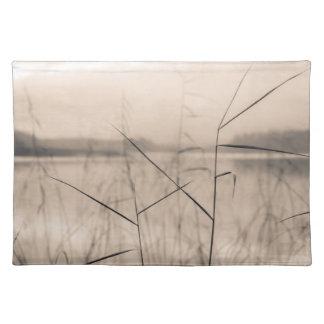Shore reeds cloth placemat