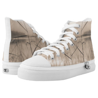 Shore reeds printed shoes