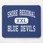 Shore Regional - Blue Devils - West Long Branch Mouse Pad