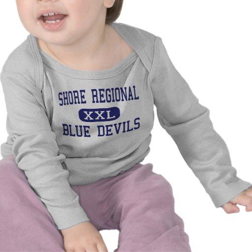 Shore Regional - Blue Devils - West Long Branch T-shirts