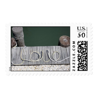 Shore Rope Love Stamps