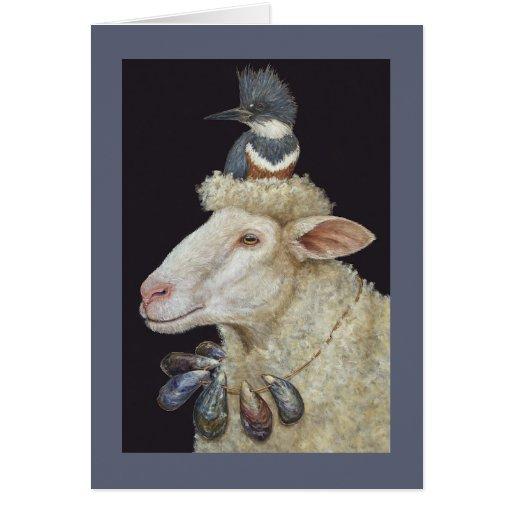 Shore Sheep card