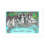 Shore SUP & Yoga Large Business Card