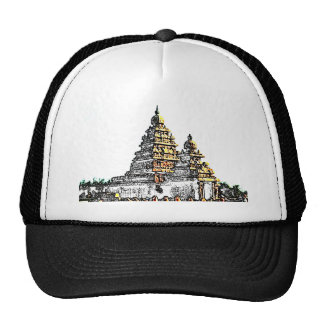 Shore Temple Sketch Trucker Hat