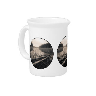 Shore trees drink pitcher