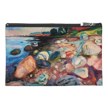 Shore with Red House by Edvard Munch Travel Accessory Bag